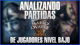 ANALIZANDO PARTIDA DE JUGADORES NUEVOS MUCHO QUE APRENDER DE LOS ERRORES PARA MEJORARDONACION, SI TE DIVIERTE Y LA PASAS BIEN CON LO QUE HAGO PUEDES APOYARME AQUI ( https://www.paypal.me/apoyaralcanalmario )FANPAGEhttps://www.facebook.com/Mario-Ovalle-1200082810100030/grupo de Facebook: https://www.facebook.com/groups/AgeOfempiresvoobly/?ref=bookmarks únanse al grupo gente a toda hora mas videos y solución de problemasmi Facebook: https://www.facebook.com/profile.php?id=100010532173890 pueden consultar y hablar con migo además de estar enterados de todo que sucede nuevos videos encuestas y demás