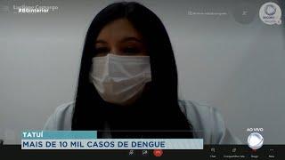 Tatuí registra mais de 10 mil casos de dengue nesse ano