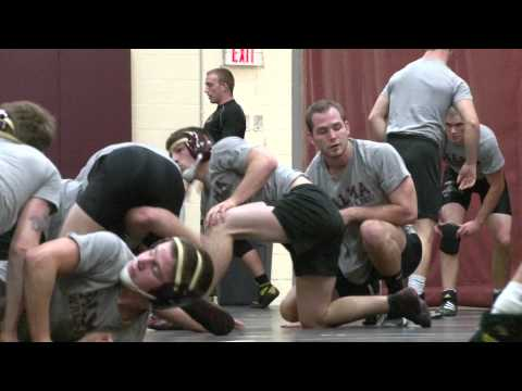 Alma College Wrestling 2012