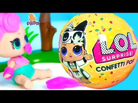 ДОСТАЛИ! #КУКЛЫ ЛОЛ 3 СЕРИЯ 2 ВОЛНА! LOL SURPRISE! ПУПСИКИ! Видео для Детей. Игрушки с Май Тойс Пинк