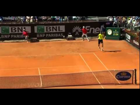 ATP Rome – Chardy vs Federer [Tie Break] – 14.05.2014
