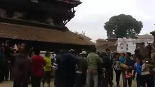 Katmandou secouée par un séisme