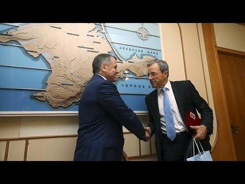 Οργή Παρισιού-Κιέβου για τους 10 Γάλλους βουλευτές στην Κριμαία