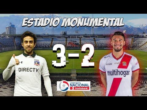 Colo Colo vs Curicó Unido 3-2 | 03/12/2017 | Campeonato Primera A - Los Marginales - Curicó Unido