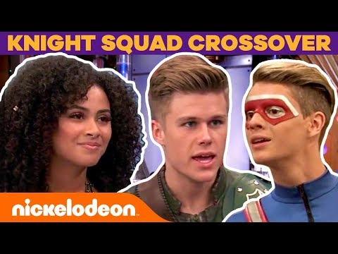 Henry Danger & Knight Squad EPIC Crossover + BTS Moments  #FunniestFridayEver