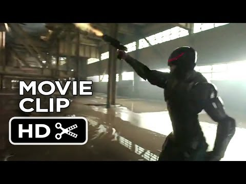 movieclipstrailers - Subscribe to TRAILERS: http://bit.ly/sxaw6h Subscribe to COMING SOON: http://bit.ly/H2vZUn Like us on FACEBOOK: http://goo.gl/dHs73 RoboCop Movie CLIP - Fiel...
