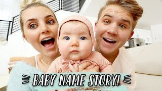 HOW WE CHOSE OUR BABY'S NAME! by Aspyn + Parker