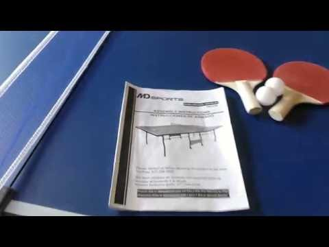 MD SPORTS PING PONG TABLE REVIEW