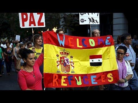 Μήνυμα αλληλεγγύης από την Ευρώπη σε πρόσφυγες και μετανάστες