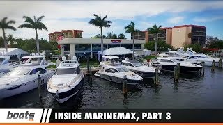 The boats.com team toured six MarineMax stores to speak with staff members in sales, business, service, training, and marketing to learn how the company has become the largest boat dealership. In this video, we examine how the company works to provide a full array of services to every customer.Read the full article: http://www.boats.com/resources/inside-marinemax-part-3-an-all-inclusive-approach/RELATED VIDEOS & PLAYLISTS:Inside MarineMax, Part 1 - It's Not About Buying the Boat - https://youtu.be/8FwkrZylfdAInside MarineMax, Part 2 - A Simpler Process is the Priority - https://youtu.be/JYMAiCymPG0Inside MarineMax - https://www.youtube.com/playlist?list=PLsiC-0C78AkEfVFuNGS3v_fOuPoiWRFtFBuying & Selling Boats - https://www.youtube.com/playlist?list=PLsiC-0C78AkEpenZRZmEjtlna_sBB8PqKFor more information, visit MarineMax: http://www.marinemax.com/?utm_source=boats.com&utm_medium=video&utm_campaign=MMX-Inside-MarineMaxSubscribe to our boats.com channel: https://www.youtube.com/user/boatsdotcomFor more boating videos, visit http://www.boats.com.boats.com features boat reviews, how-to videos, special features, and information about new boats, boats for sale, and boating products—usually with a dash of fun.Our reviewers test the features, performance, and specifications of each boat, searching out the hidden details for a critical evaluation. If you're shopping for a boat, we want to help you make the best choice. And if you're just looking, we'll try to make it fun too. Subscribe to receive notification of new videos.