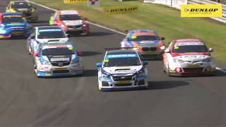 BTCC 2016 Rounds 10,11,12 | Highlights from Oulton Park | Dunlop by Autocar