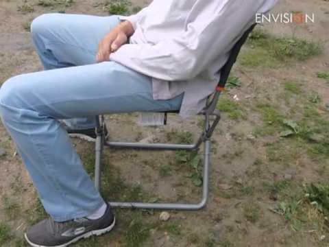 складной стул для рыбалки из полипропиленовых труб