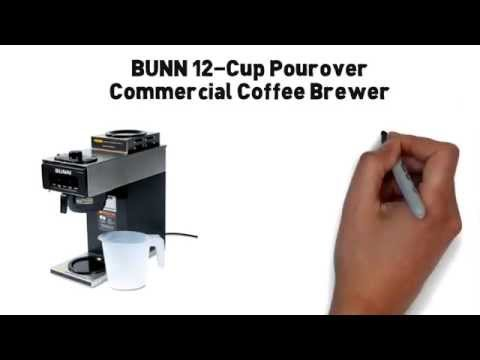 *****Bunn 12 Cup Pourover Commercial Coffee Maker - Great For The Office :))))))))))))))