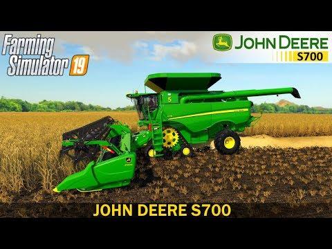 John Deere S700 North/South America & Australia V1.0