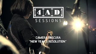 Subscribe to 4AD here: http://bit.ly/4ADYouTube Watch the full session here: http://bit.ly/4ADSessionCameraObscura 'New Year's Resolution', taken from Camera...