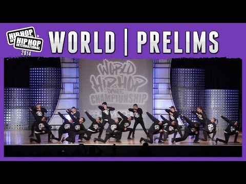 X-Entrix Dance Company – Costa Rica (Mega Crew) at the 2014 HHI World Megacrew Prelims