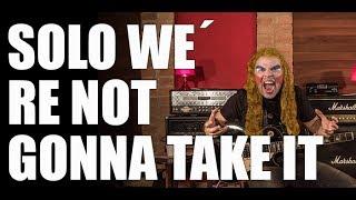 """COMO TOCAR - Solo da música """"We´re Not Gonna Take It"""" da banda americana Twisted Sister. Ideal para iniciantes na guitarra.Inscreva-se aqui e fique por dentro das novidades: https://www.youtube.com/rodflausinoFique à vontade para mandar dúvidas e sugestões que ficarei feliz em responder.http://rodflausino.com.brhttp://www.facebook.com/rodflausinohttp://twitter.com/rodflausinoAulas de guitarra presenciais em Osasco-SP e Alphaville (Barueri e Santana de Parnaíba) e região. Disponibilidade para aulas via Skype. Consulte aqui: rod_flausino@hotmail.comCaptação de imagem: Marcos Coluci https://www.facebook.com/marcos.coluciCaptação de áudio e locação: Vitrola Estúdiohttps://www.facebook.com/vitrola.estudio.1"""