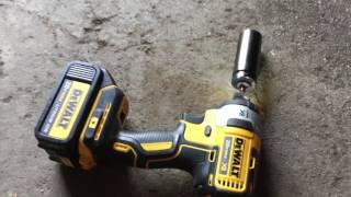 Dewalt DCF887 Impact Driver Lug Nut Test