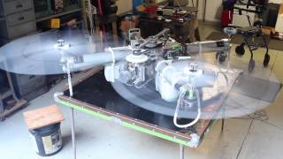 Heavy Lift Quadcopter HLQ Engine Sensor and Torquing Test