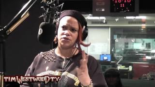 Faith Evans on Biggie, Tupac, Lil Kim interview - Westwood