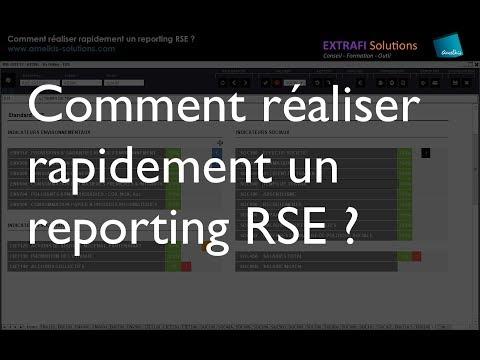 Comment réaliser rapidement un reporting RSE ?