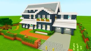 """Minecraft Tutorial: How To Make A Ultimate Suburban House """"2019 Tutorial"""""""