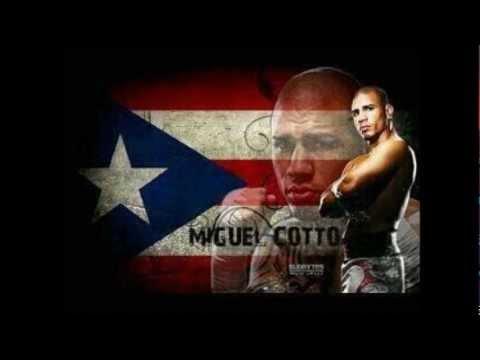 Cotto's entrance version of Calle 13 El Hormiguero