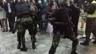 Nigerian Airforce counter-terrorism simulation exercise