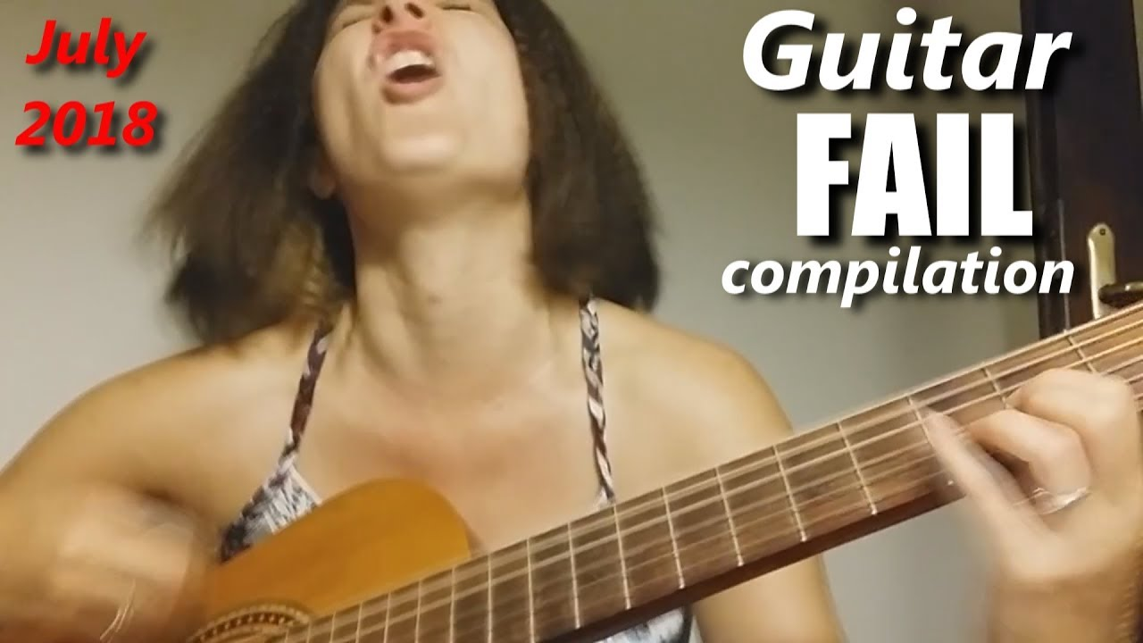 Guitar FAIL compilation July 2018 | RockStar FAIL