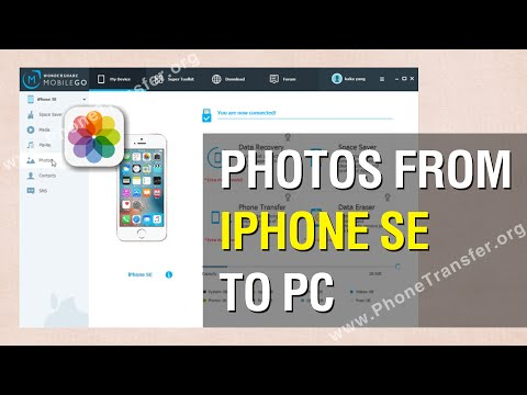 How to Backup Photos from iPhone SE to PC in 1-Click