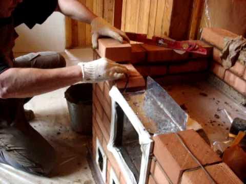Как выложить печь своими руками видео фото