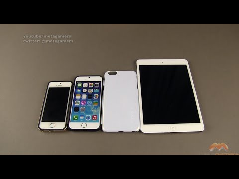 size comparison - In this video I compare the iPhone 6 plus to the iPhone 6 and iPhone 5s in a variety of circumstances. For this video I am using an actual iPhone 5s, an accu...