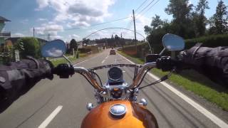 8. 2015-07-31 Harley-Davidson Sportster SuperLow 1200T - Test Drive - Thalersee