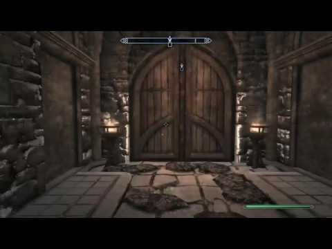 Skyrim Special Edition [PS4] Castle Volkihar Gate Glitch Workaround, Dawnguard/Bloodline Quest