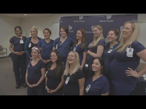 16 nurses at an Arizona hospital are pregnant