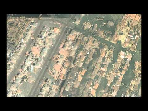 Hurricane Katrina: A Before and After Timelapse