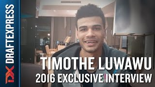 Timothe Luwawu Exclusive DraftExpress Interview