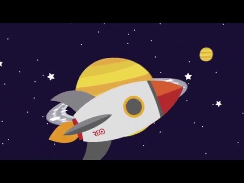 Video Youtube - Motion design - Space Cartoon © / Réalisation : Gaël CARMONT