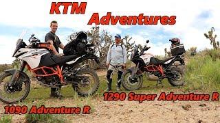6. 1290 Super Adventure R : 1090 Adventure R Big Bear Ride Review
