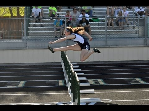 Bay Port Jen Anderson talks about winning 2 hurdle events in regionals