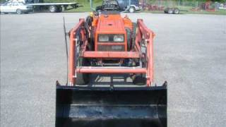 5. Kioti LB1914  4WD Tractor