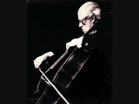 Rostropovich plays Shostakovich Cello Concerto No. 1 - 1/4
