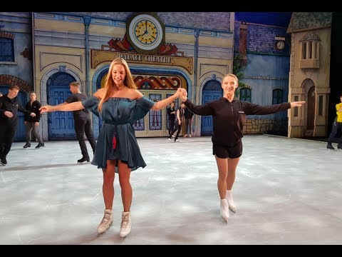 Top Billing meets the stars of Cinderella On Ice