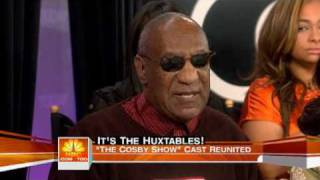 Today Show Cosby cast reunites 25 years later 05/19/2009 Part 2