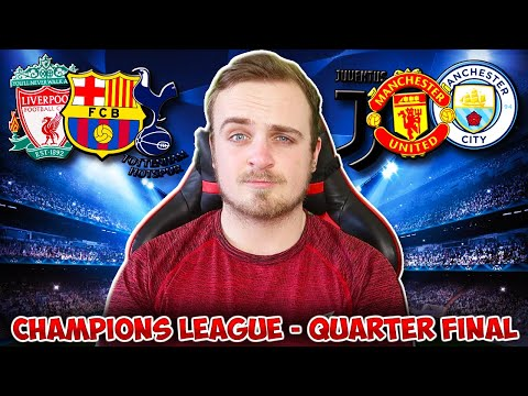 My Champions League 2018/19 QUARTER FINAL [SECOND LEG] PREDICTIONS!