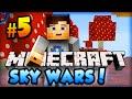 "Minecraft SKYWARS - ""NOT THE LAVA!"" - Minecraft w/ Ali-A! #5"