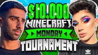 $10,000 MINECRAFT Monday Tournament w/ James Charles (Week 3)