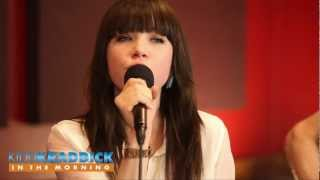"""Carly Rae Jepsen interview & """"Call Me Maybe live acoustic performance"""