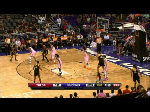 Phx Mercury set record with 12 Blocks in the first half vs. Tulsa Shock