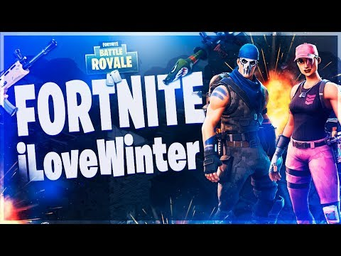 ●[AO VIVO] ILoveWinter - FORTNITE - Game Sem Som, Mas Com Musica =)!